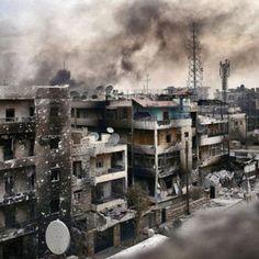 Halep'te tarifi imkansız bir vahşet yaşanıyor