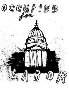 Occupied For Labor by Colin Matthes -One of my teachers here at the lovely Burren College of Art.