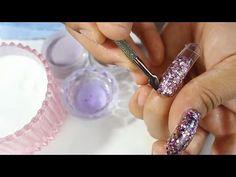 Las uñas acrílicas más rápidas que e echo en 15 minutos con las duals forms 😱💐 - YouTube Manicure Y Pedicure, Druzy Ring, Acrylic Nails, Nail Art, Eyeliner, Youtube, Jewelry, Ideas, Nail Arts