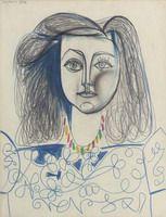 Pablo Picasso. Bust of a Woman (Françoise Gilot), 1946