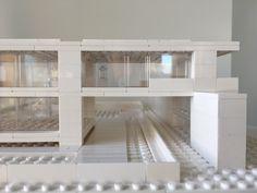 Lego Architecture, Lego Architecture Studio, Harm Bron, Amsterdam Lego Craft, Lego Lego, Legos, Lego Space Station, Lego Studios, Lego Architecture, Amsterdam, Building, Model