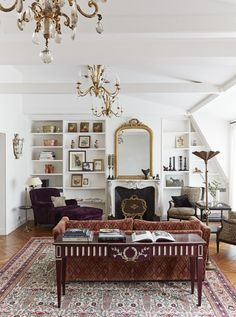 Home Decoration Interior Parisian Apartment Decor Secrets To Steal For A Chic Home.Home Decoration Interior Parisian Apartment Decor Secrets To Steal For A Chic Home French Living Rooms, French Country Living Room, Living Room Photos, Country Kitchen, French Home Decor, French Country Decorating, Vintage French Decor, Modern Victorian Decor, French Style Decor