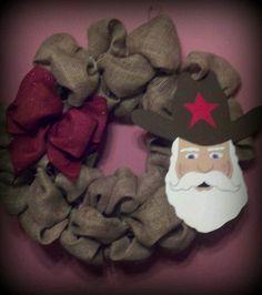 My cute. Cowboy santa