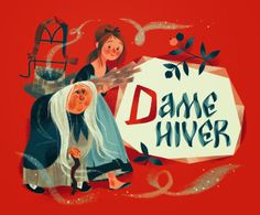 Dame Hiver  by Annette Marnat
