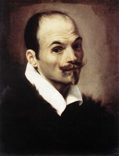 BORGIANNI, Orazio Self-Portrait 1615 Oil on canvas, 55 x 39 cm Galleria Nazionale d'Arte Antica, Rome