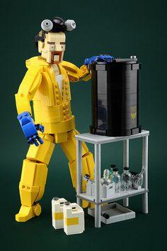 Heisenberg   LEGO 7 Jurassic World, Legos, Lego Custom Minifigures, Robot Cartoon, Lego Pictures, Amazing Lego Creations, Lego People, Lego Craft, Lego Worlds