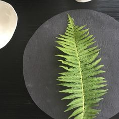 Black and white porcelain with textile structure www. Pottery Wheel, White Porcelain, Plant Leaves, Ceramics, Black And White, Tableware, Handmade, Design, Tablewares