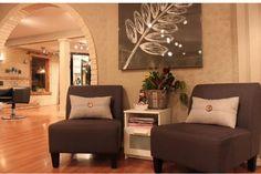 Water's Edge Salon&Spa Burlington Beauty Salon Decor, Salon Ideas, Salons, Spa, Decor Ideas, Furniture, Home Decor, Beauty Shop Decor, Living Room Ideas