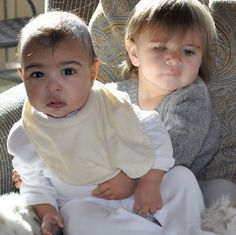 North West & Penelope Disick are BFFs!