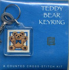 Textile Heritage Keyring Counted Cross Stitch Kit Wee Scottie Dug