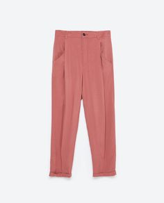 LOOSE - FIT TROUSERS - New this week - TRF - COLLECTION AW15 | ZARA United Kingdom