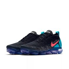 buy popular 44848 1421e Original Authentic NIKE AIR VAPORMAX FLYKNIT 2 Mens Running Shoes Sneakers  Breathable Sport Outdoor Athletic Good