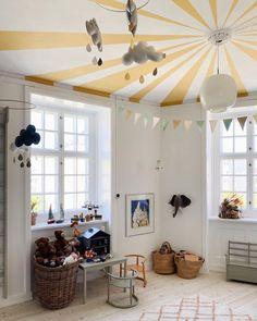 Line Stampe Dahl ( Ikea Kids Room, Kids Bedroom, Kid Spaces, Living Spaces, Contemporary Interior Design, Scandinavian Home, Baby Room Decor, Boy Room, Home Remodeling