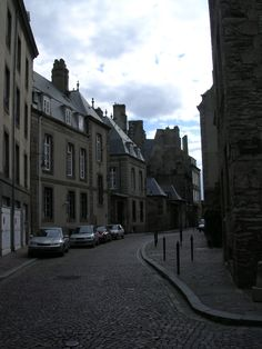A typical street in Saint Marlo [also called The walled City] France