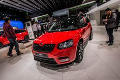 Especially if your idea of an exciting weekend includes some outdoor fun. Whatever you choose, wherever you decide to go, the ride with the Yeti Monte Carlo will be remarkable #montecarlo #yeti #skoda #genevamotorshow