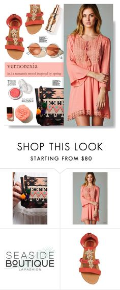 """""""Seaside-boutique.com: Vernorexia"""" by hamaly ❤ liked on Polyvore featuring ootd, dresses, bag, bohemianstyle and seasideboutique"""