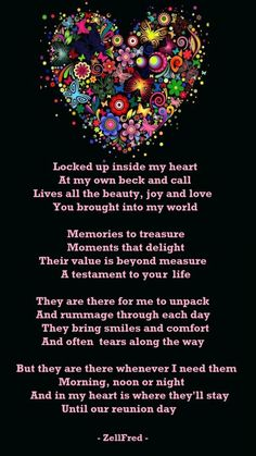 Locked Inside My Heart. I love you mommy. Laura Lee, Bob Marley, Missing My Husband, Grief Poems, Son Poems, Heaven Quotes, Heaven Poems, Angels In Heaven, Be My Hero