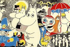 my kids WILL grow up reading Moomin. end of story.