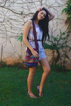 Lookandinho: Vestido Boho