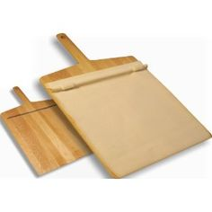 EXO Super Peel Pizza Peel in Solid White Ash - Made in USA - Cook's Illustrated Recommended (Never accidentally dump your pizza toppings while getting your pizza into the oven again! Best Pizza Stone, Super Pizza, Pizza Kitchen, Kitchen Dining, Kitchen Utensils, Cooking Utensils, Wood Pizza, Food On Sticks, Cooking Stone