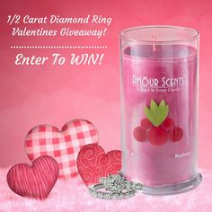 Amour Scents Valentines Day Giveaway WIN a 1/2 Carat Diamond Ring ENDS 2/13