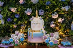 Get inspirational unicorn cake ideas from this image gallery of unicorn cake designs and cake toppers ideal for birthdays and kids parties Unicorn Cake Design, Cake Lifter, Unicorn Birthday, Cake Birthday, Cake Decorating Set, World Images, Cake Designs, Table Party, Cake Table