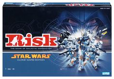 Risk: Star Wars - The Clone Wars Edition -- I want this.