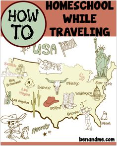 Ben and Me-How to Homeschool When Traveling   10 Ways to Learn in the Car