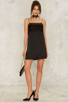 Too Bad Satin Slip Dress - Clothes | Velvet | Fall Bohemia | Cocktail Dresses | Black Dresses