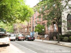 Tree-lined streets in residential #Manhattan. http://www.nyhabitat.com/new-york-apartment/vacation/14985