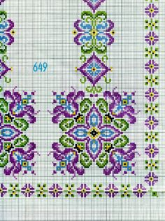 Brilliant Cross Stitch Embroidery Tips Ideas. Mesmerizing Cross Stitch Embroidery Tips Ideas. Cross Stitch Borders, Cross Stitch Flowers, Cross Stitch Charts, Cross Stitch Designs, Cross Stitching, Cross Stitch Patterns, Ribbon Embroidery, Cross Stitch Embroidery, Embroidery Patterns