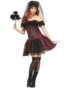 Drac's Bride Adult Womens Costume – Spirit Halloween
