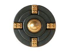 2 Metal  Shank Buttons In Gear 7/8 inch  22 mm  by ButtonJones, $8.00
