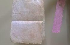 Cómo hacer papel casero
