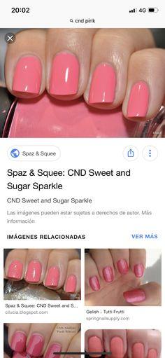 Tutti Frutti, Shellac Colors, Pink, Nail Polish, Nails, Beauty, Finger Nails, Ongles, Hot Pink