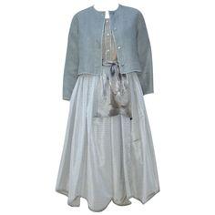 Luxe Linen & Silk ensemble by Geoffey Beene