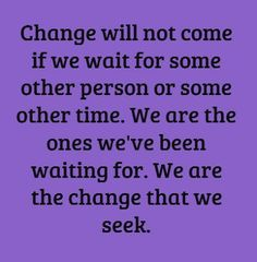 picture quotes about change | life inspiration quotes: You are your own change inspirational quote