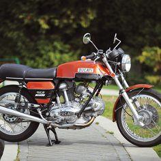 Taglioni's First Twin: 1973 Ducati 750GT