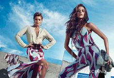guess marciano spring 2014 campaign5 Clara Alonso & Heather Depriest Front Guess by Marciano Spring 2014 Ads by Hunter & Gatti