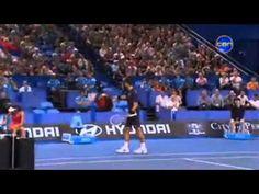 Novak Djokovic and Ana Ivanovic doing Gangnam Style HopmanCup.