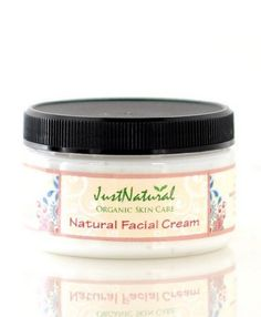 Natural Facial Cream by JustNatural Organic Care. $23.99. Designed to provide intense hydration.. pH balanced and unscented. Absorbs quickly. Natural formula lets your skin breathe.. Leaves skin silky soft.. This specially formulated silky, lightweight cream for the face is absorbed easily.. In just days, you will begin to see dull, dry skin transform into skin  that beams with healthy radiance and silky softness.  Let this luxurious facial cream illuminate your skin w...