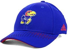 7493c4381cb adidas Kansas Jayhawks NCAA Adjustable Snapback Cap Hat adidas Royal Blue Red  http