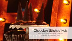 Chocolate Witches' Hats