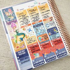 Midweek spread! Sticker sources tagged loves <3 Diary Planner, Planner Tips, Planner Layout, Planner Pages, Life Planner, Happy Planner, Printable Planner, Planner Stickers, Elle Fowler