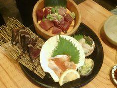 Wow?Sashimi is free.