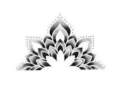 Mandala Tattoo Design, Diamond Tattoo Designs, Geometric Mandala Tattoo, Geometric Stencil, Geometry Tattoo, Mandala Dots, Geometric Tattoo Design, Flower Cover Up Tattoos, Cover Tattoo
