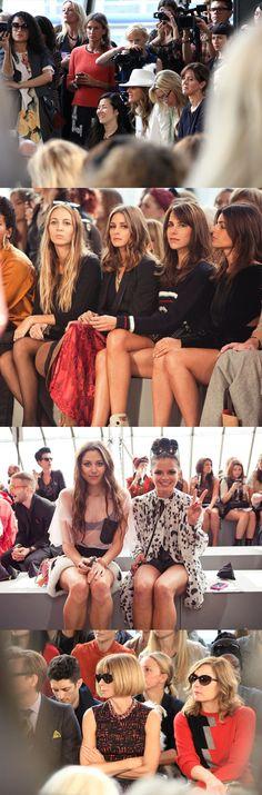 topshop fashion show