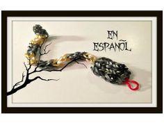 Proyecto de Gomitas - Rattle Snake - Serpiente / Culebra de Cascabel - Vídeo en español. Para mas pulseras y proyectos visitanos: http://www.rainbowloomenespanol.com/