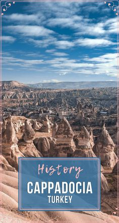 When #traveling to #CappadociaTurkey, you should know a few facts about the area. Here are some historical details that will be helpful. #Travel #TravelTurkey #TravelCappadocia #CappadociaHistory #CappadociaThingsToKnow Hiking Europe, Backpacking Asia, Travel Guides, Travel Tips, Travel Advise, Amazing Destinations, Travel Destinations, Turkey Culture, Turkey History
