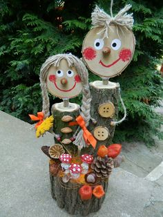 Super poignets pour super héros Plus Nature Crafts Fall Crafts Christmas Crafts Christmas Ornaments Beautiful Beautiful House Beautiful Beautiful Homes Outdoor Pr. Kids Crafts, Fall Crafts, Diy And Crafts, Craft Projects, Projects To Try, Outdoor Projects, Wood Projects, Christmas Decorations To Make, Christmas Crafts